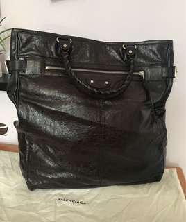 Balenciaga city leather tote