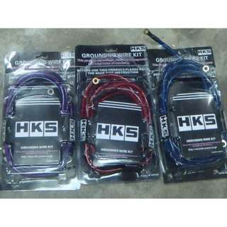 HKS ground cable BIG Size 10mm  model 26914