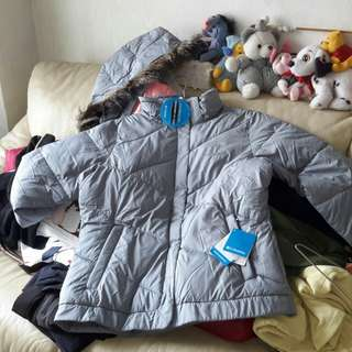 Columbia water resistance jacket women size 保暖防水外套
