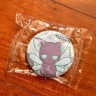 (100%全新日本製)百變小櫻Magic卡襟章-雪比