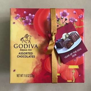 Godiva Chocolate CNY Chinese New Year Lunar