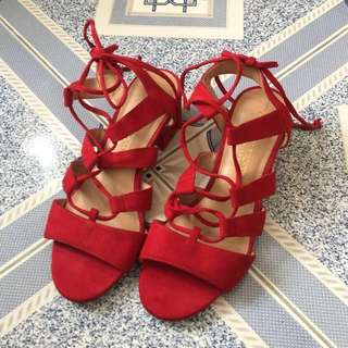 Dark Red Christian Siriano for Payless Shoes