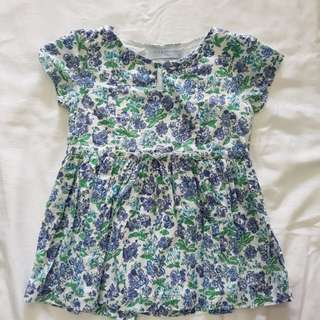 Gingersnaps girl floral top