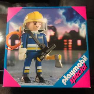 Playmobil special edition Fireworker