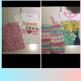 Kids short set