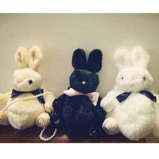 Lolita蝴蝶結兔子包☆超萌軟妹 日系賣萌必備