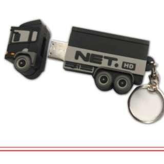 Flashdisk truck Net Tv 8 gb