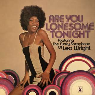 Vinyl - Are you Lonesome Tonight by Leowright and the Richard Sedin Orchestra