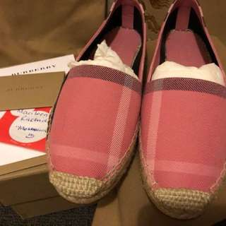 Burberry Canvas Espadrilles
