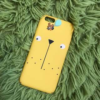 Korea yellow IPhone 6/6s case (hard)