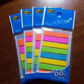 Post it strips
