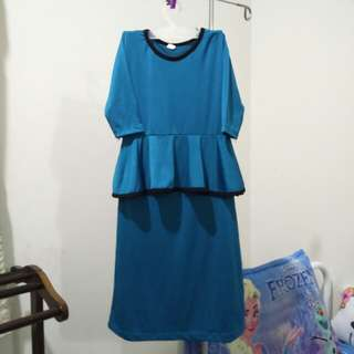 Peplum Dress or Jubah