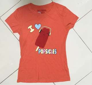 Popsicle graphic tee