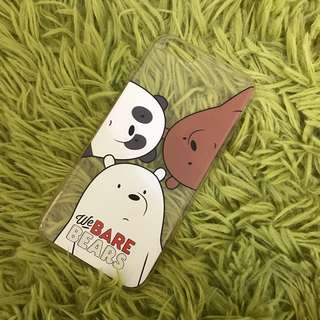 The bare bears IPhone 6/6s case (soft)