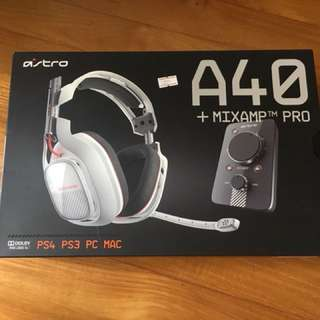 Astro A40 with Mix Amp Pro
