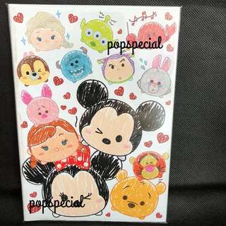 Disney Tsum Tsum Note Book Single Line