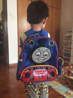Thomas the train school bag