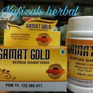 Extract Gamat Mas Gamat Gold 75 Kapsul
