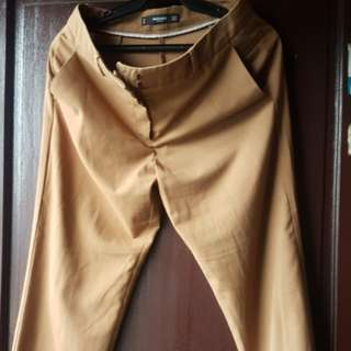 MANGO PRELOVED PANTS BROW