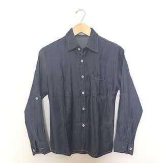 Denim shirt/ kemeja jeans