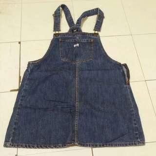 Original Lee Overall Denim Dress