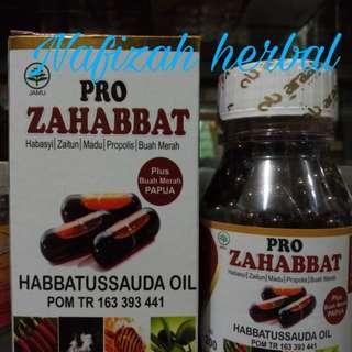 Pro Zahabbat habatusauda plus buah merah zaitun dan madu propolis 200 kapsul