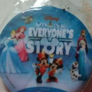 Disney on ice pin badge