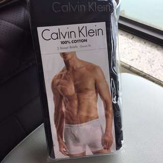 Calvin Klein CK 100% cotton 3 Boxer Briefs Classic fit