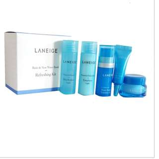 LANEIGE Basic & New Water Bank Refreshing Kit