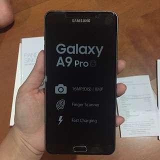 Samsung A9 Pro Kondisi 99.9% Like New
