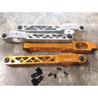 FUNCTION 7  ~~    Wira, Satria, Putra, Gen2, Persona, Waja & Neo        rear lower arm Triangle Holes  Gold Color  model 37629.