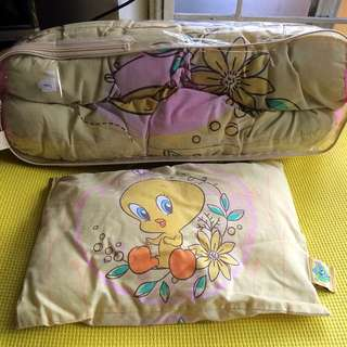 Tweety Bolsters And Baby Pillow