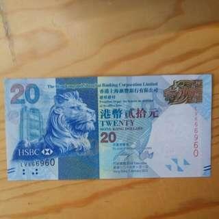 直版 666豹子 20蚊