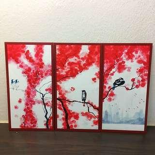 Conrad Hotel Calligraphy Red Packet / Angbao / Hongbao / Angpow Set