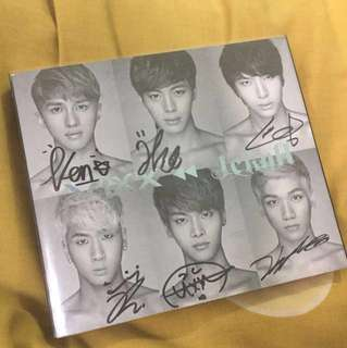 VIXX - Jekyll Signed Album (all members)