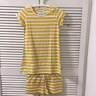 Long Shirt & Short set