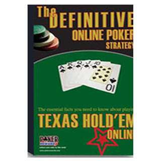 The Definitive Online Poker Strategy eBook (46 Page Full Colored eBook)