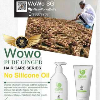 Wowo Hair Shampoo & Hair Mask