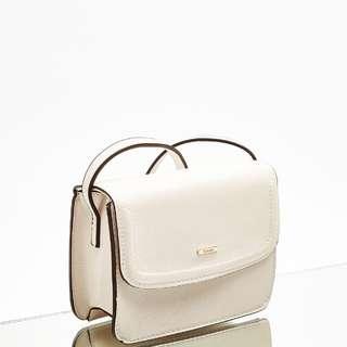 Bershka mini textured crossbody bag