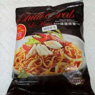 新加坡 辣椒螃蟹風味拉麵