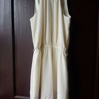 Express PRELOVED halter dress  (check dress details)