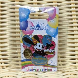 絕版 Osward Birthday 奧斯華 生日 LE500 Walt Disney Pin