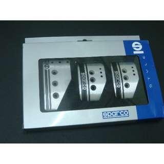 Sparco Settanta pedal SILVER  MT   model 31535