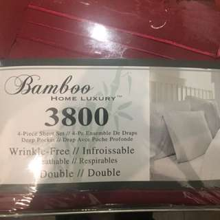 Brand New unopened Double / Full size 4 piece bed sheet set