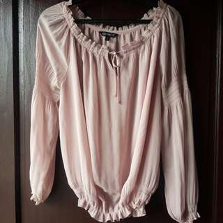 Express chiffon blouse preloved MEDIUM