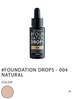 Gosh Foundation Drop - 004 Natural