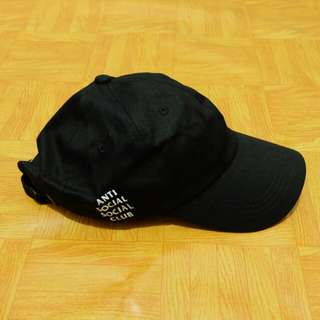 Topi Anti Social Social Club ASSC Weird Cap