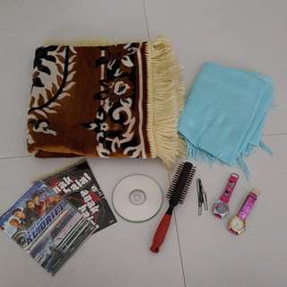 Blessing assorted items
