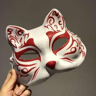 🚚 [隨便賣]日式狐狸手繪面具🎭