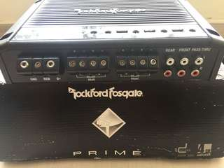 Prime 4-Channel Amplifiers